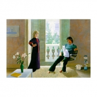 Hockney - Mr. and Mrs. Clark and Percy