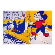 Lichtenstein - Look Mickey